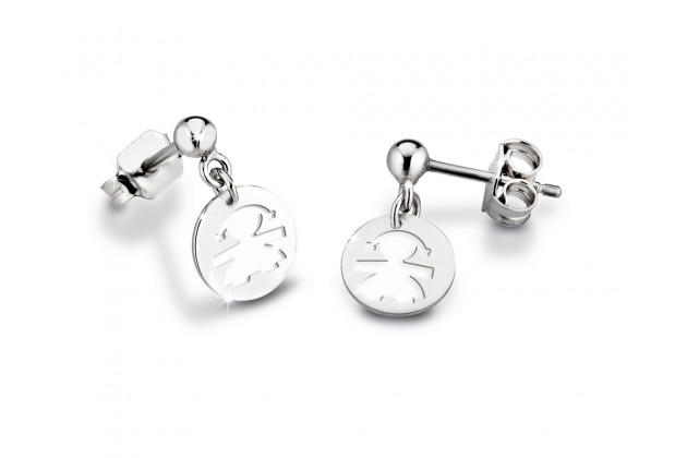 LeBebé white gold earrings