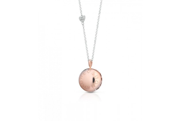 leBebé Le Lune silver pendant with rose plating