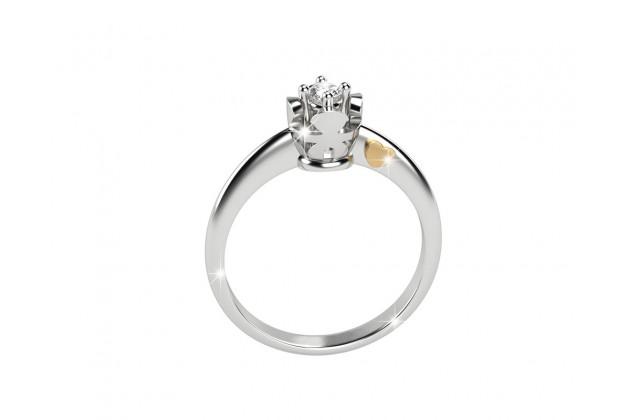 leBebé Gioielli white gold diamond ring