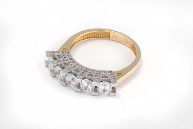 Ring - Rings - GOLD Rings with CZ