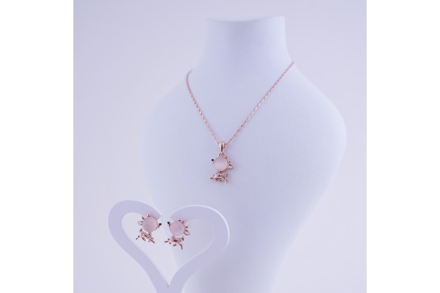Necklace and earrings Bambi - Jewelry Комплекти