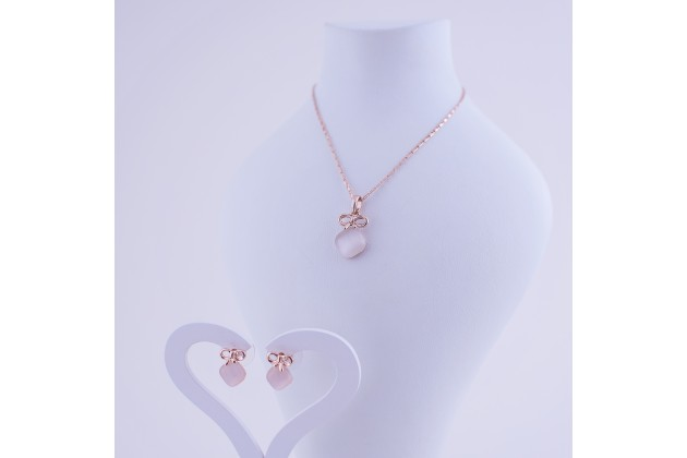 Necklace and earrings Giftbox