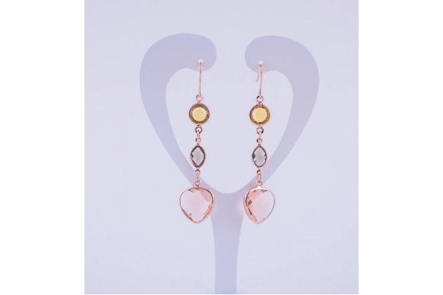 Long earrings Romance