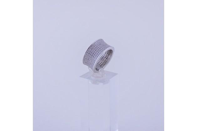 Crystal steel ring