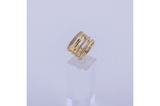 Solid crystal ring - Rings