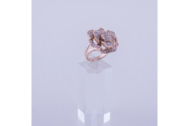 Crystal rose ring - Rings