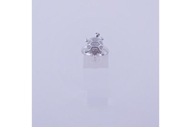 Turtle steel ring