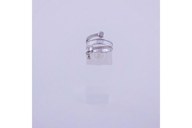 Hanging skull ring