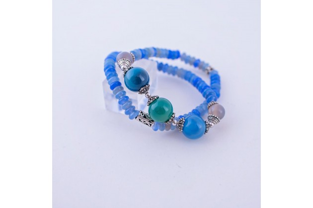Sea colored bracelet