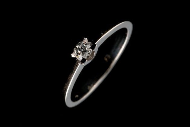 Ring - Rings - GOLD Engagement rings Rings with diamonds