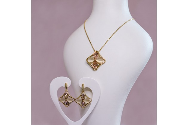 My star jewelry set in three colors