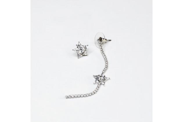 Asymmetrical earrings Star of the Night