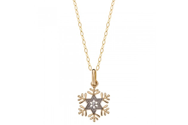 Snowflake necklace Frozen