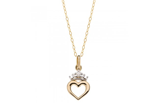Heart of the Princess Disney gold necklace