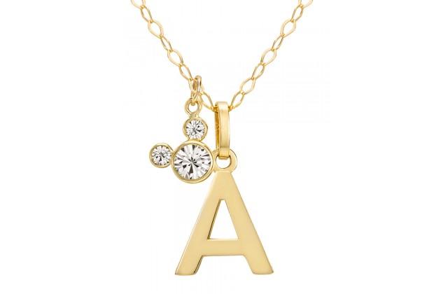"Disney Initials necklace - letter ""A"""