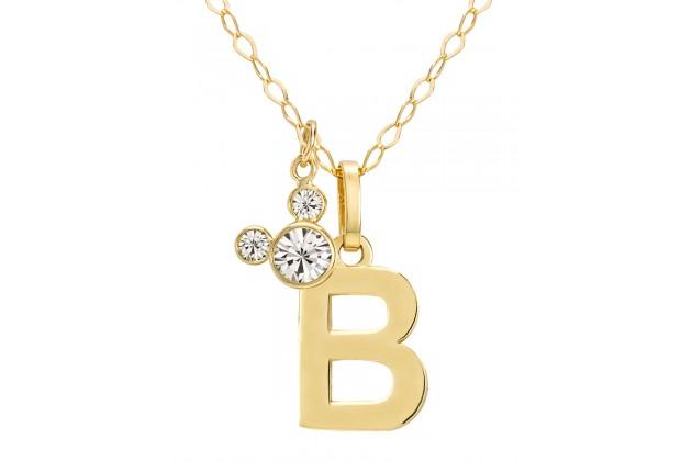 "Disney Initials necklace - letter ""B"""