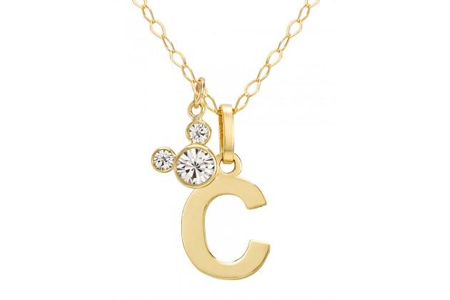 "Disney Initials necklace - letter ""C"""