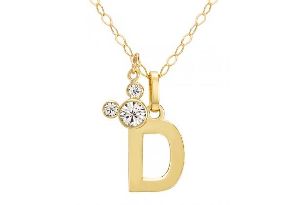 """Disney Initials necklace - letter """"D"""""""