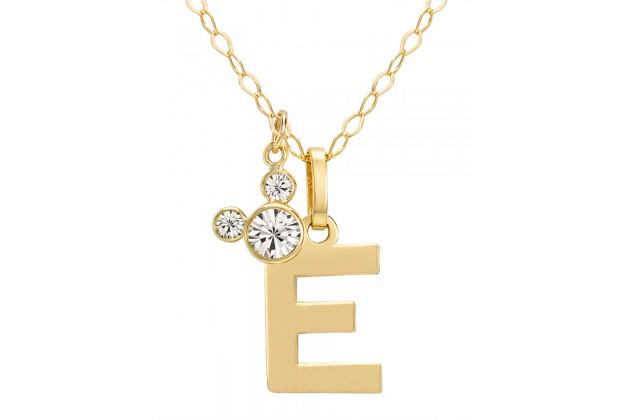 """Disney Initials necklace - letter """"E"""""""