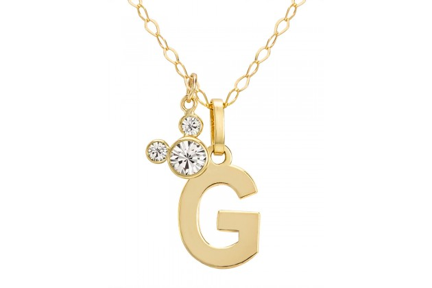 "Disney Initials necklace - letter ""G"""