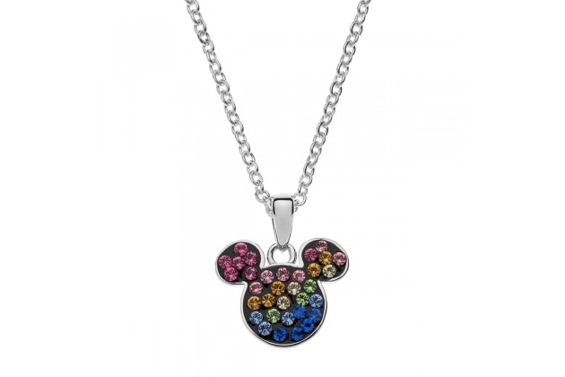 Mickey Mouse rainbow necklace