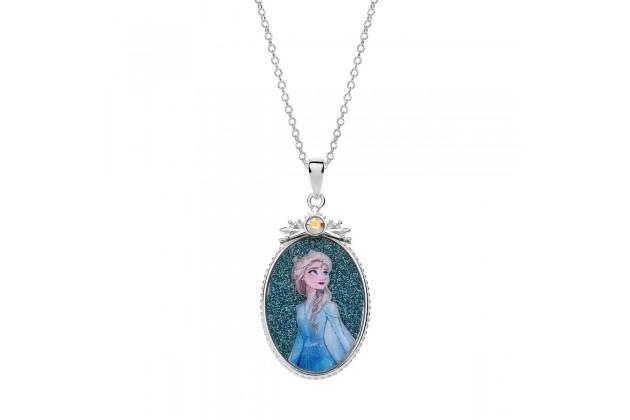 Princess Elsa of Arendelle silver necklace