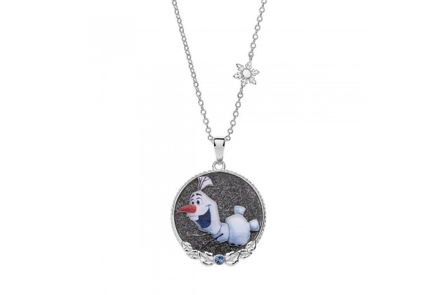 Silver necklace Olaf