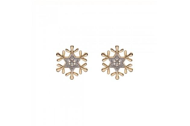 Snowflake earrings Disney Frozen