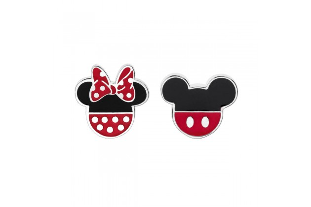 Minnie and Mickey Mouse funky earrings