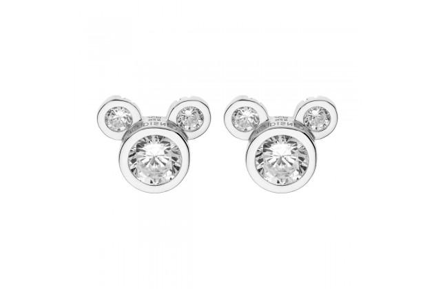Mickey Mouse elegant crystal earrings