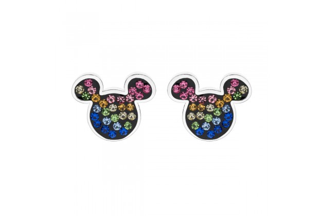 Mickey Mouse rainbow earrings