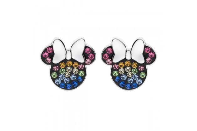 Minnie Mouse rainbow earrings