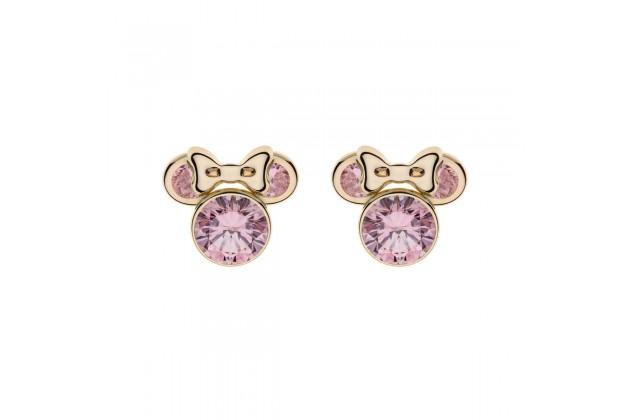 Gold earrings Disney June birthstone