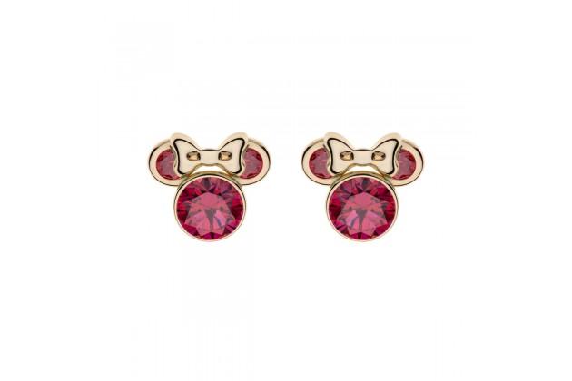 Gold earrings Disney July birthstone