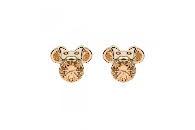 Gold earrings Disney November birthstone