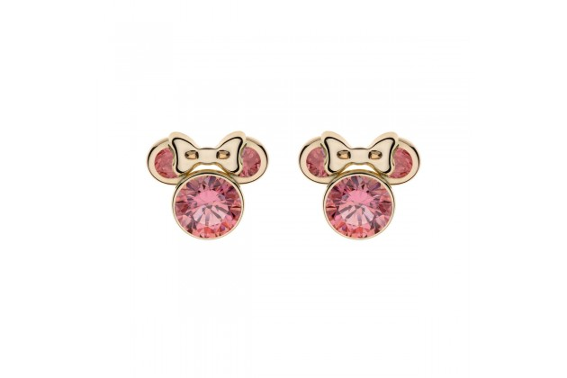 Gold earrings Disney October birthstone