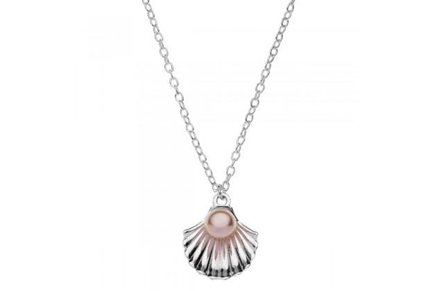 Disney Little mermaid silver necklace