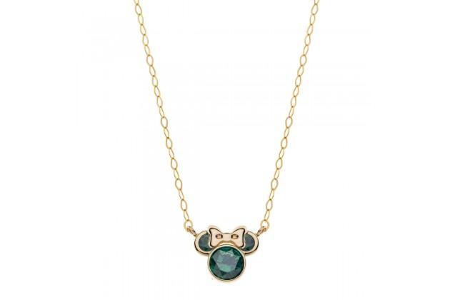 Gold earrings Disney May birthstone