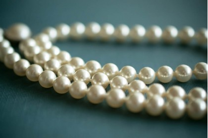Pearls are the birthstone of June