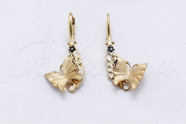 Earrings - Animal Kingdome Collection - Earrings - GOLD Without stones