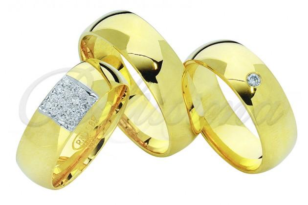 Брачни халки MARRY ME - Солид жълто злато
