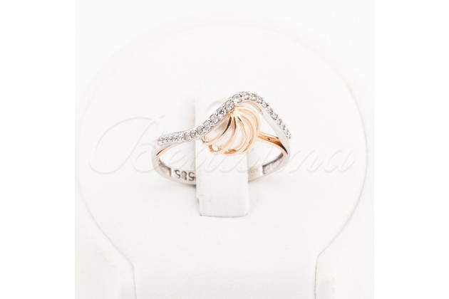 Ring - Franco Fontana - Rings - GOLD Rings with CZ