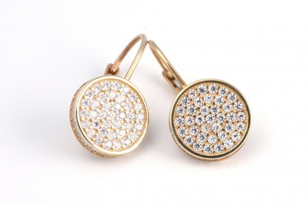 Earrings - Earrings - GOLD With zirconium