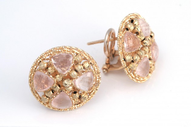 Earrings - Earrings - GOLD Color stones