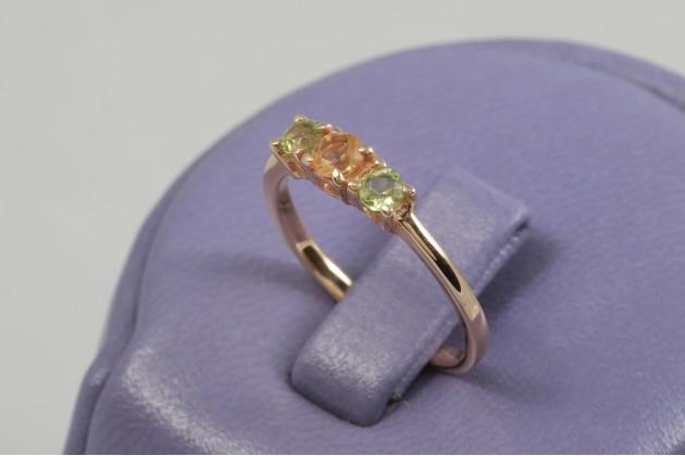 Пръстен, Пръстени с цветни камъни - бижута от Belissimavip.com