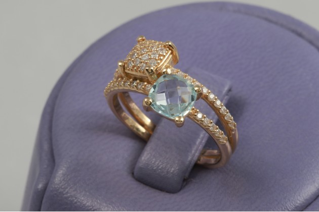 Ring - Rings - GOLD Color stones rings Rings with CZ