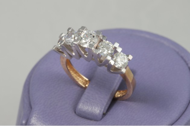 Ring - Rings - GOLD Engagement rings Rings with CZ