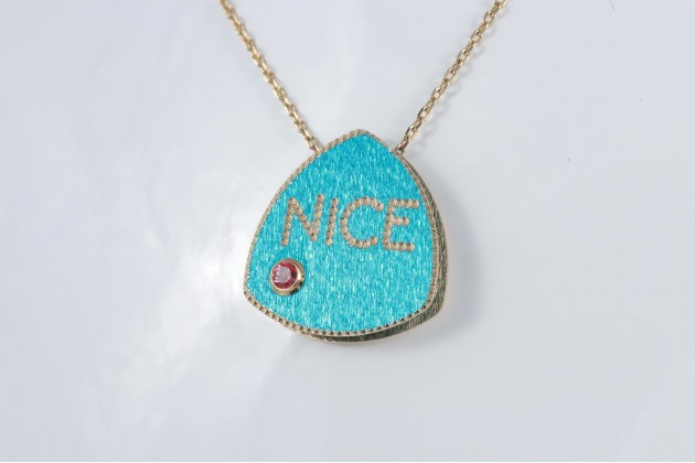 Necklace - Necklaces  - GOLD Bracelets With color stones