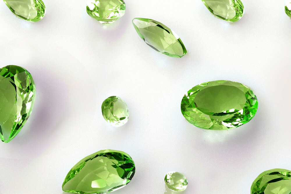 Peridot is the birthstone of August